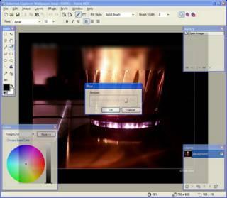 Captura de pantalla de Paint.NET