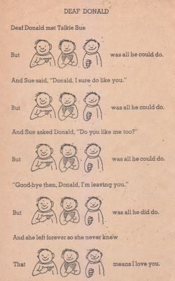 Deaf Donald by Shel Silverstein