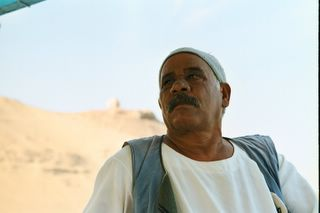 Nubian captain on our Felucca&#8230;