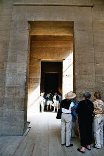 Inside Philae Temple&#8230; moved to protect it from f&#8230;