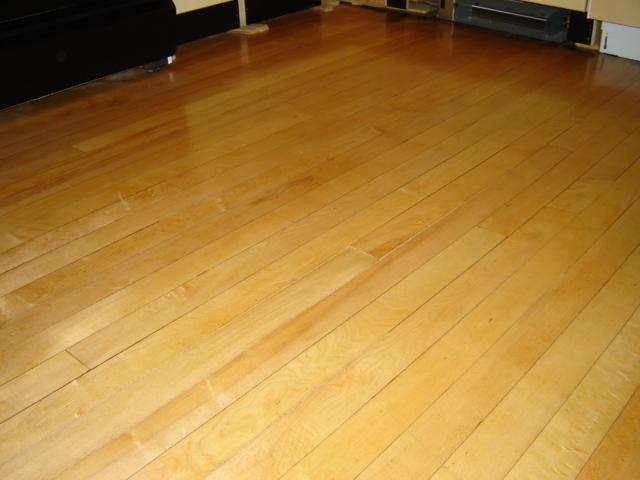 Refinishing Maple Floors : Chicago 2-Flat: Refinishing Maple Floors