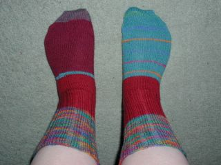 Oddment socks