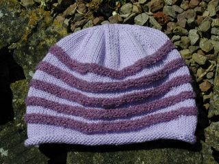 Yet another stripy hat