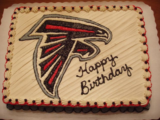 Sports Colleges And Graduation Cakes Atlanta Falcons Logo
