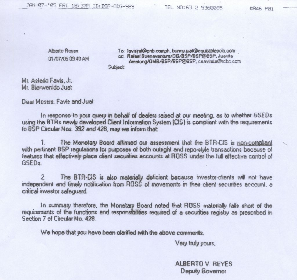 Philippine debt management issues february 2005 as i promised in my earlier post of the minutes of the meeting i had with the bap this is the email letter of bert reyes cited yadclub Gallery