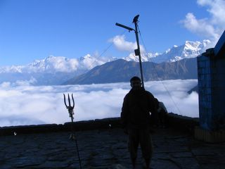 great view at tungnath