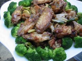 Chicken Wings with Oyster Sauce