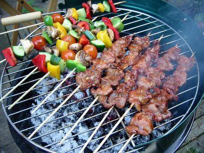 Pork BBQ grilling