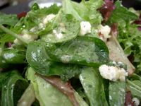 photograph picture of Lettuce & Point Reyes Blue Cheese from Tabla (Tava) Larkspur Marin