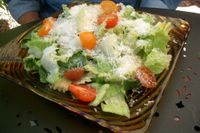 photograph picture of caesar salad from Tabla (Tava) Larkspur Marin