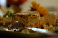photograph / picture a homemade fish terrine catered by Polly Legendre from lagourmande.com