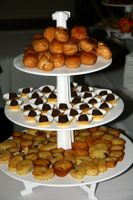 photograph / picture desserts, sweets, petites choux catered by Polly Legendre from lagourmande.com