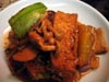photograph picture of vegan main meal entree Dubu Jorim (Simmered Spicy Tofu) recipes for IMBB#19