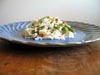 photograph picture of vegan main meal entree Rice Salad with Toasted Walnuts and Green Beans recipes for IMBB#19
