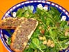 photograph picture of vegan main meal entree Flora Salad recipes for IMBB#19