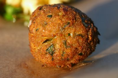 photograph picture of a vegan picnic of falafel, recipe links