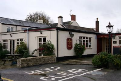 photograph picture of the Plough Inn in Pilning, Gloucestershire, England