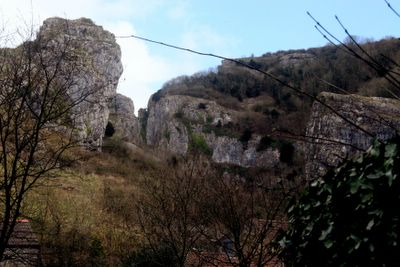 photograph picture of Cheddar Gorge in Somerset, the West Country, England
