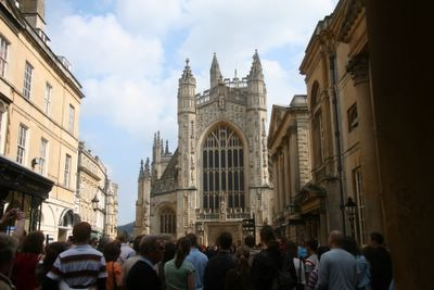photograph picture Bath Abbey in Bath, England