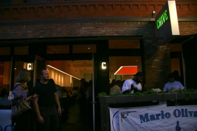 photograph picture of outside Chive. Filed under Cafe Review, San Diego, Chive, Gas Lamp