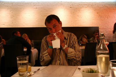 photograph picture of Fred. Filed under Cafe Review, San Diego, Chive, Gas Lamp
