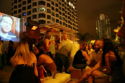 photograph picture of W hotel outdoor Beach bar filed under review