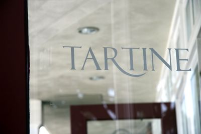 photograph picture of Tartine logo in San Diego