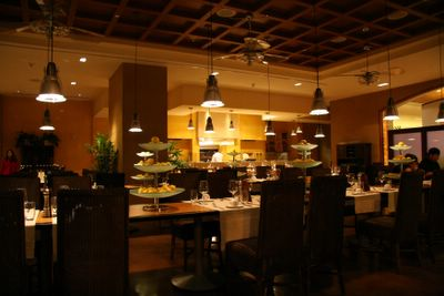 photograph picture of the dining room. Filed under Restaurant Review, San Diego, Soleil @ the K