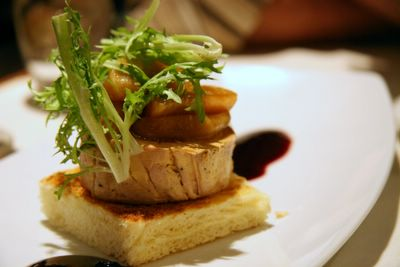 photograph picture of the foie gras. Filed under Restaurant Review, San Diego, Soleil@K