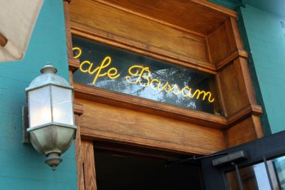 photograph picture of Cafe Bassam logo in San Diego