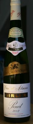 photograph picture of Vin D'Alsace Pinot Blanc 2002
