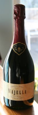 photograph picture of 2003 Vintage Coonawarra Majella Sparkling, bottle fermented Shiraz