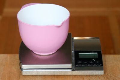 photograph picture of my salter electronic kitchen scale