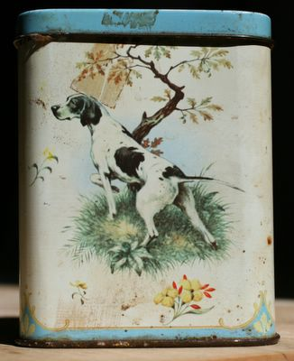 photograph picture of my favourite tea caddy