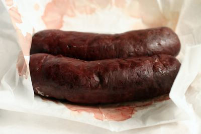 photograph picture boudin noir from The Fatted Calf in San Francisco