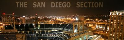photograph picture of the San Diego Skyline. Filed under Cafe/Restaurant Review, San Diego, Cafe 222