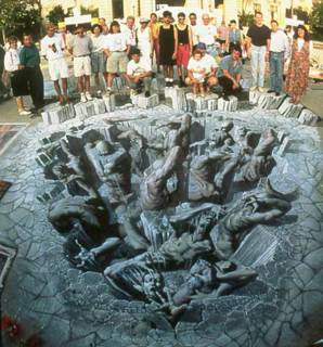 Inferno by Kurt Wenner