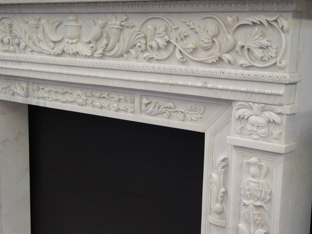 portfolio of custom carved works for architecture