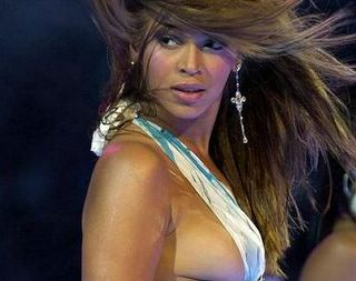Beyonce has a good weave, her dad has a bad attitude