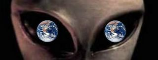 Alien Earth Eyes