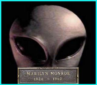 Alien Eyes Monroe RIP