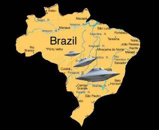 Brazil UFO Map
