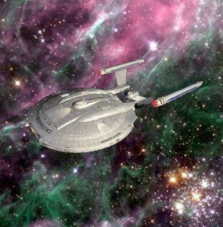 Enterprise in Space Background