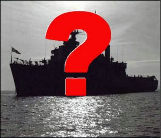 Mystery Ship Question Mark