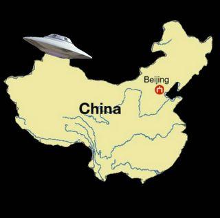 Saucer Over China
