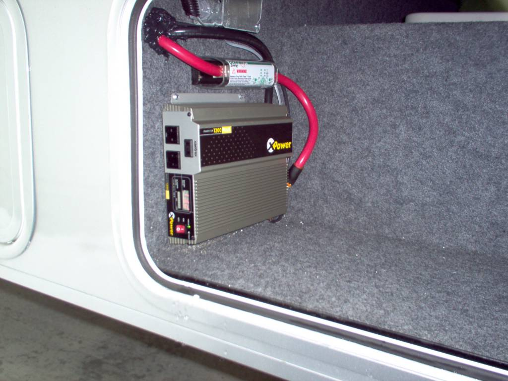 How To Do Just About Anything In An Rv 6 Installing Power Converter Wiring Diagram Inverter Your