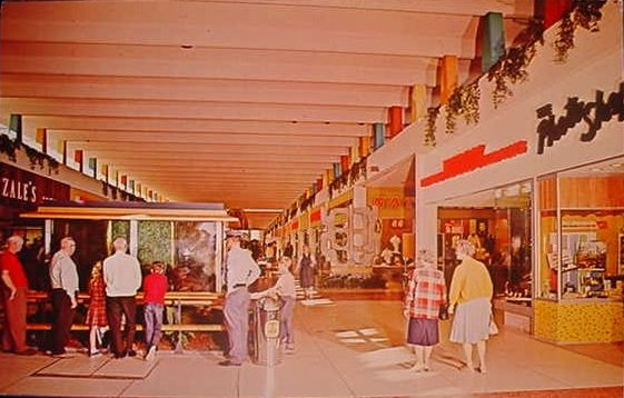 Malls of america vintage photos of lost shopping malls for Fish store phoenix