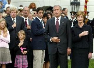 George W Bush - pledge of allegiance