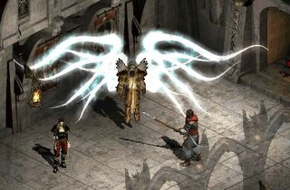 Diablo II: an assassin talks to Tyreal