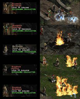 Diablo II: Guardians and Matriachs
